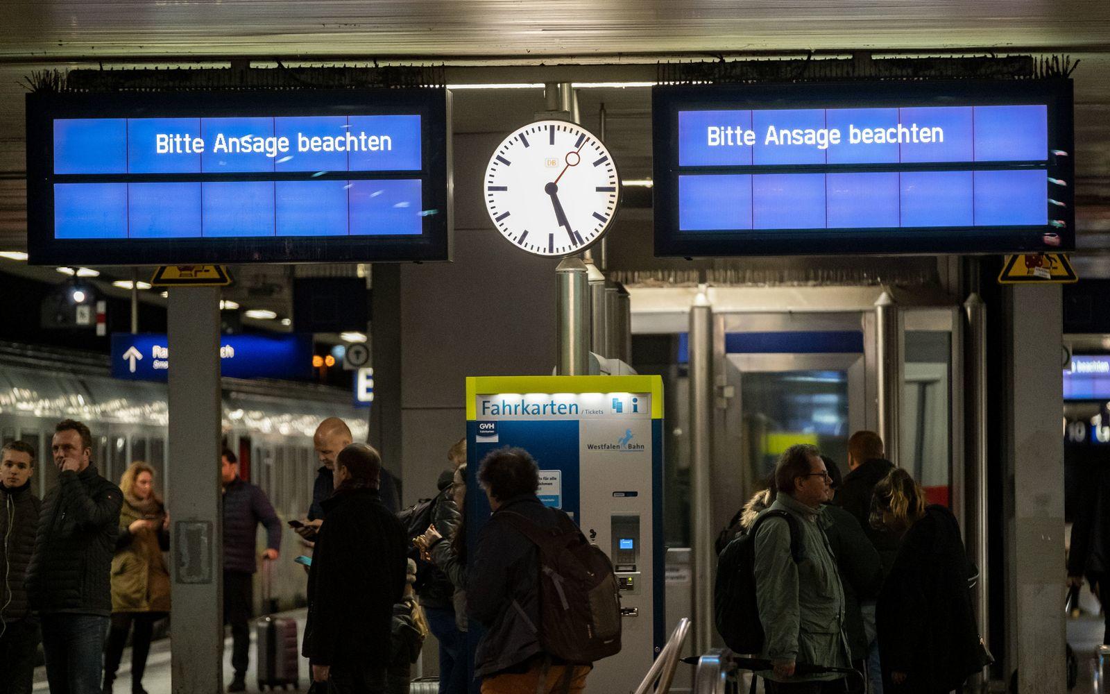 Bahnverkehr in Hannover ruht wegen Stellwerksausfalls