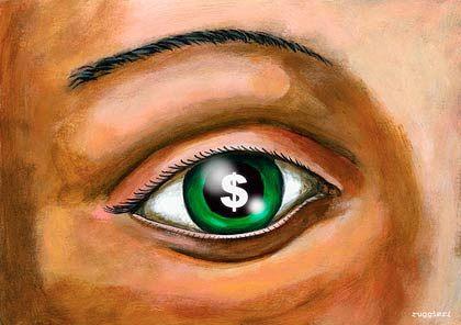 Dollarzeichen im Auge: 50 Banker von Dresdner Kleinwort erhalten Boni in Höhe von 120 Millionen Euro