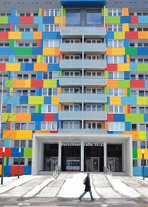 Haus in Dresden: Die städtische Woba wurde 2006 von Fortress übernommen