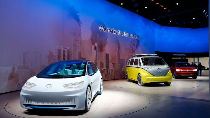 VWs Roadmap E: Das sind die neuen Volkswagen Modelle