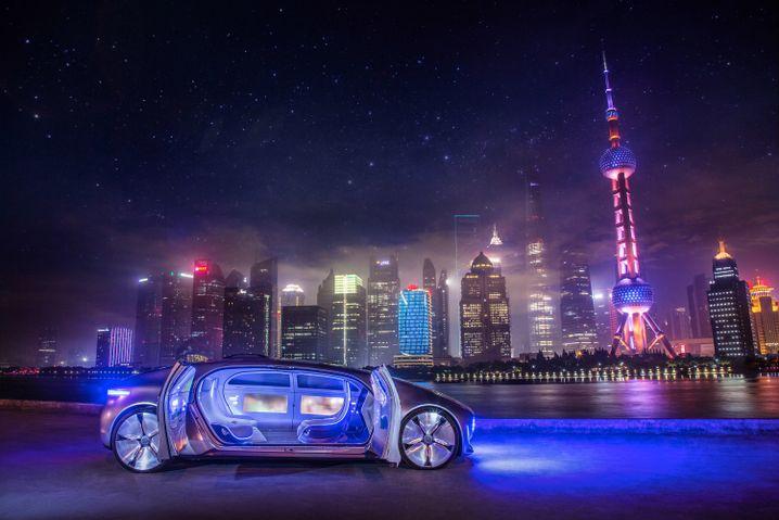Designstudie F015 von Mercedes: Autonomes Fahren kommt - aber nicht über Nacht