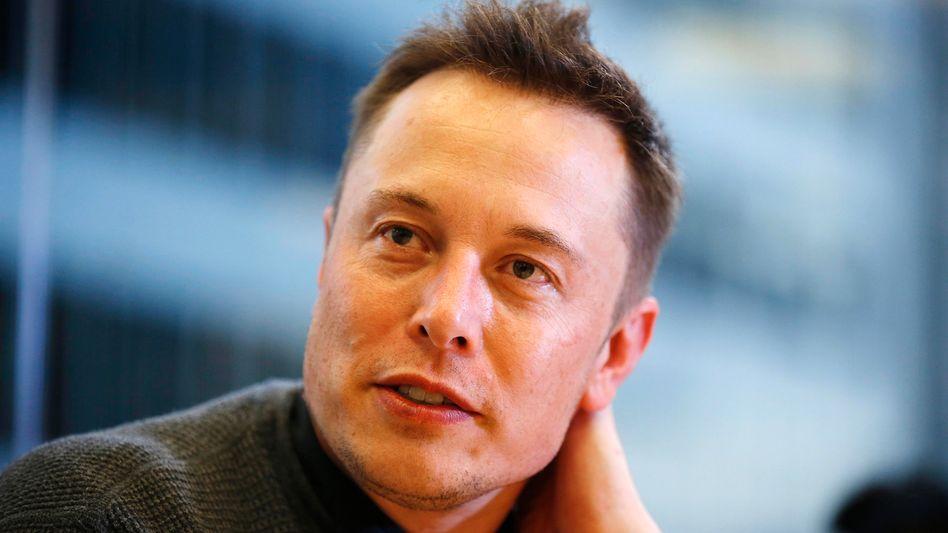 Duschen für den Erfolg: Tesla- und SpaceX-Boss Elon Musk