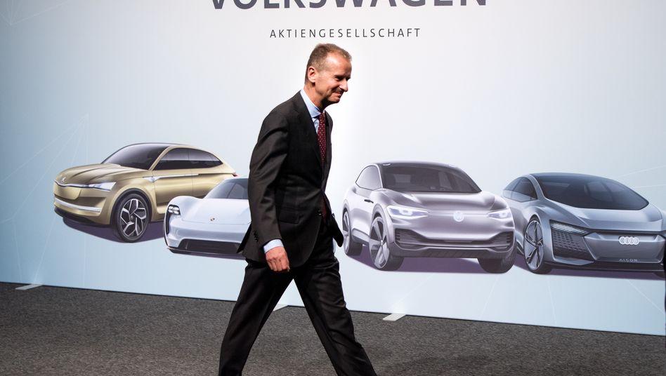 VW-Chef Diess will Ralf Brandstätter zum COO berufen