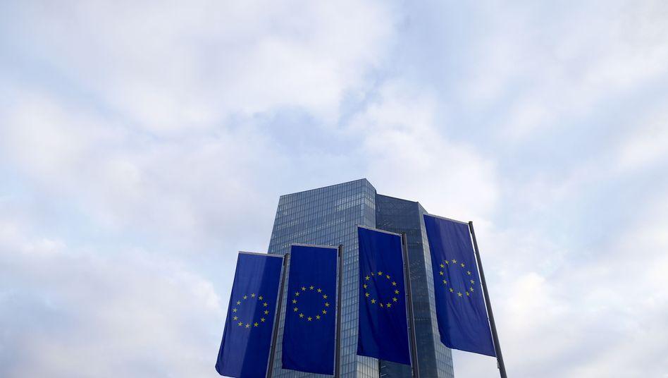 Zinswächter: Die EZB-Zentrale in Frankfurt