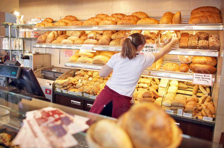 Nur schauen. Nicht essen. Gehen Sie lieber in den Supermarkt nebenan und kaufen Sie sich etwas Gesundes.