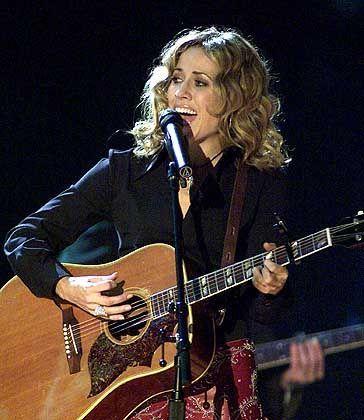 Engagiert gegen die Industrie: Sängerin Sheryl Crow