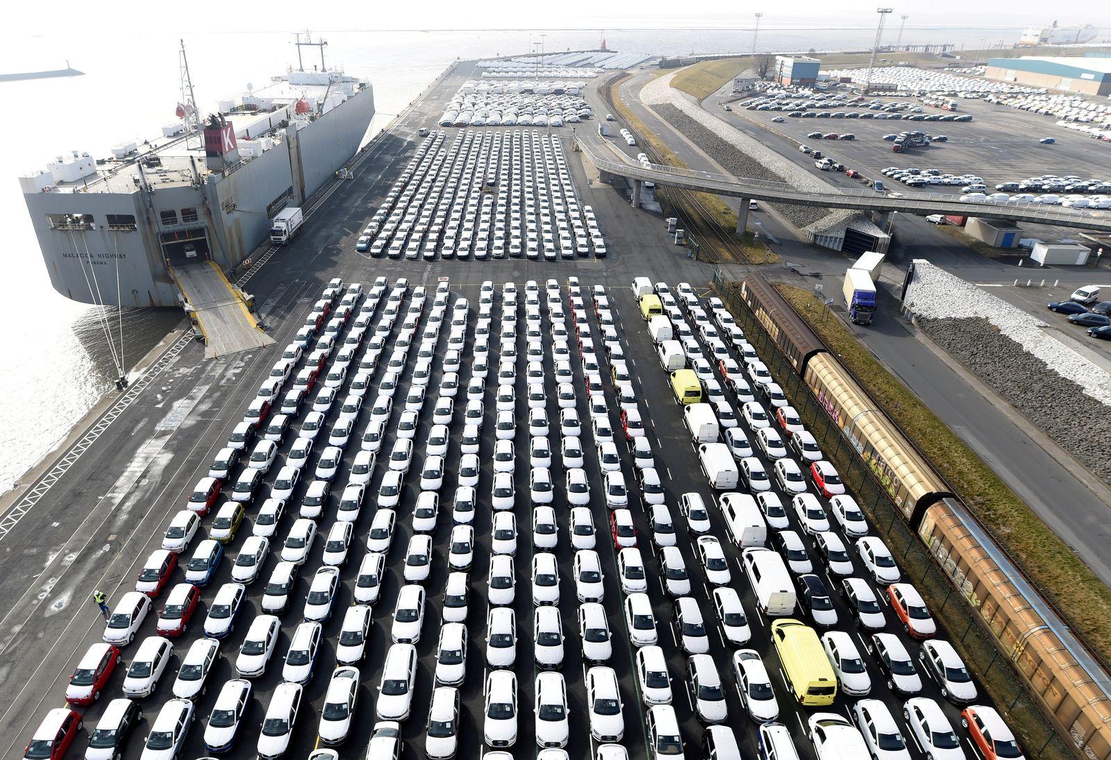 Deutschland / Konjunktur / Export VW