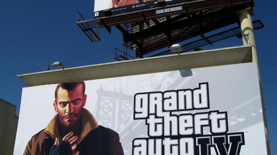 """Einträglich: Das Video-Spiel """"Grand Theft Auto 4"""" von Take 2."""