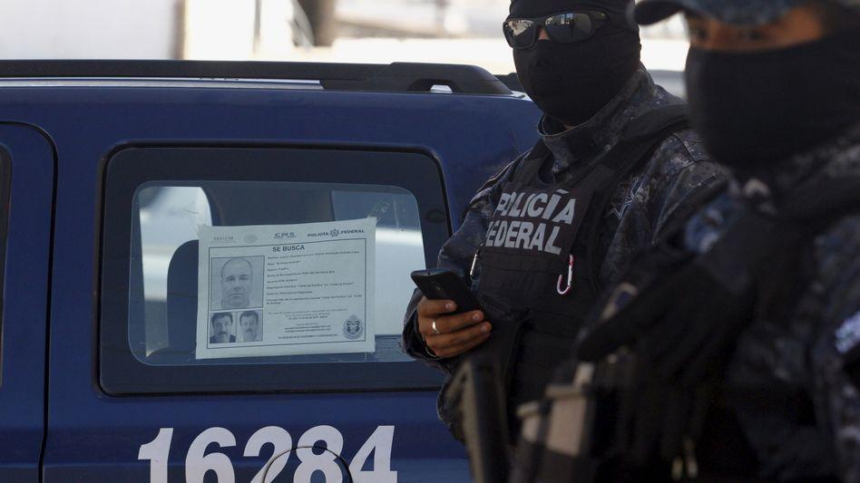 Polizist in Tijuana, Mexiko: Trauriger erster Platz mit 138,2 Tötungsdelikte je 100.000 Einwohner
