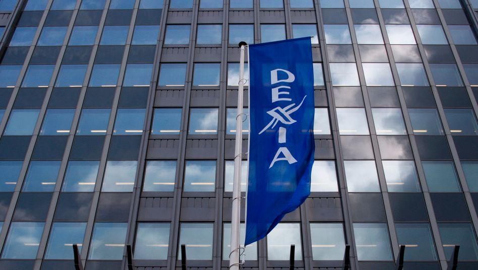 Hauptquartier in Brüssel: Die Anleger rissen sich heute förmlich um Dexia-Aktien