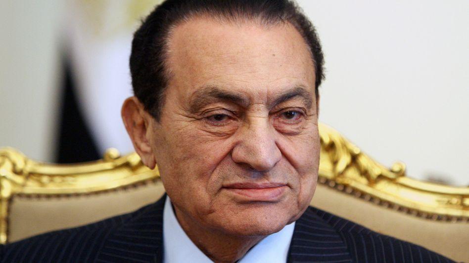 Gestürzter Despot: Mubarak sitzt für mindestens 15 Tage in Untersuchungshaft