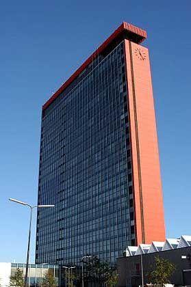 Standort der Kamera: Uni-Hochhaus in Delft