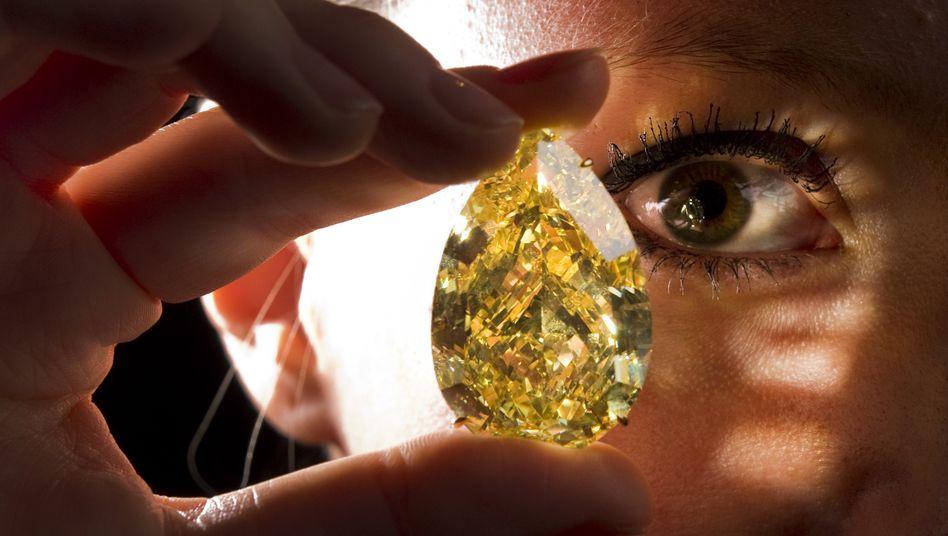 Begehrt als Schmuck, aber weniger als Geldanlage: Ein teurer Diamant