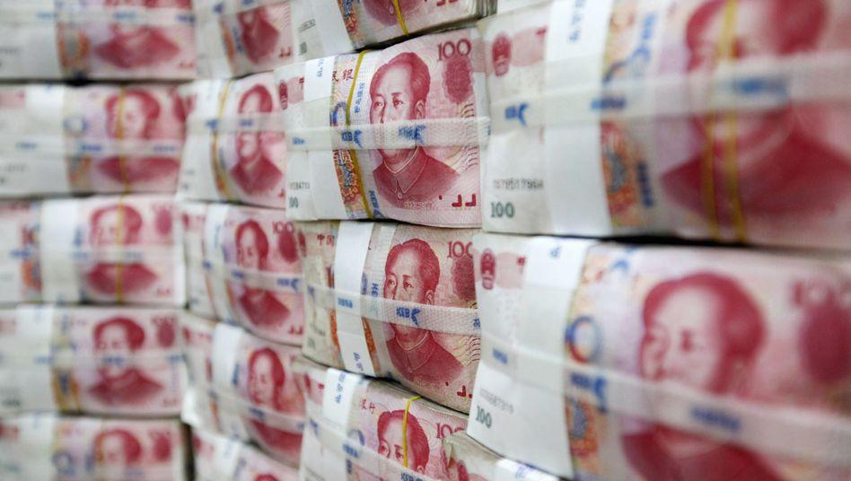 Chaos in Europa, Aufschwung in China: Peking will Renminbi-Verbreitung forcierem