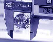 In der Klemme - der Euro