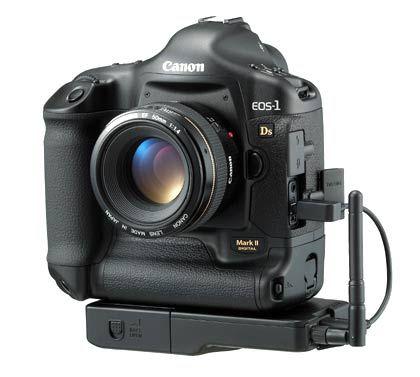 Der Kracher unter den Mega-Pixeln: Die EOS-1D Mark II versteckt 16,7 Megapixel hinter dem Spiegel und kostet 8000 Euro