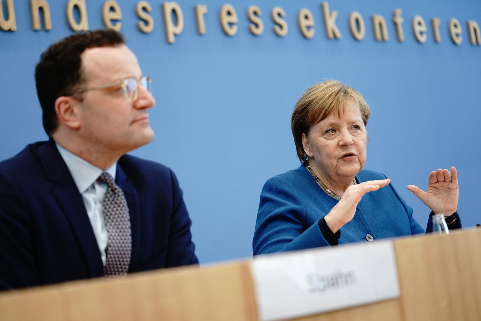 Angela Merkel / Jens Spahn / Coronavirus