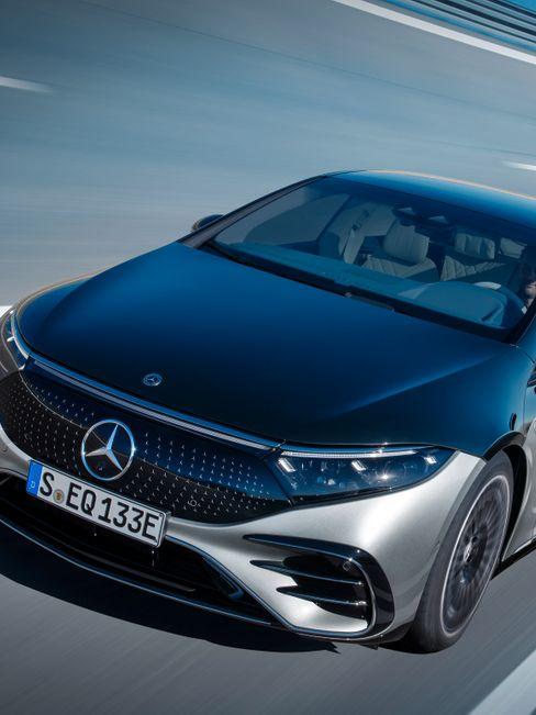 Mercedes EQS - der Elektro-Leitstern in Bildern