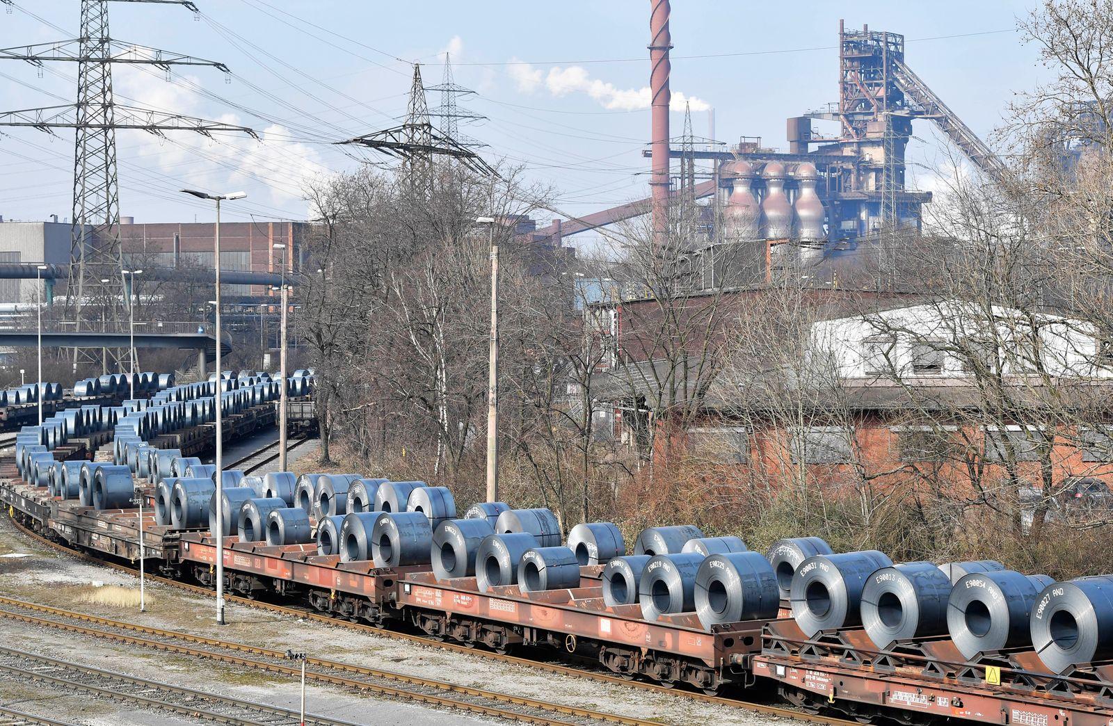 Deutschland / USA / Export / Stahl