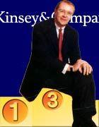 McKinsey-Chef Jürgen Kluge: Ein 3 im mm-Zeugnis reichte den Mackies für den dritten Platz