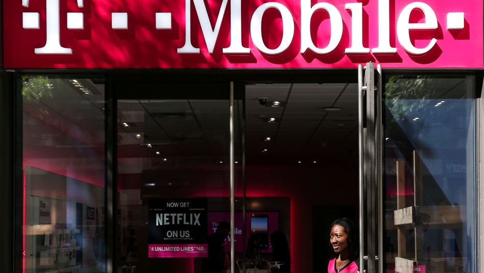 T-Mobile-Laden in Manhattan, New York