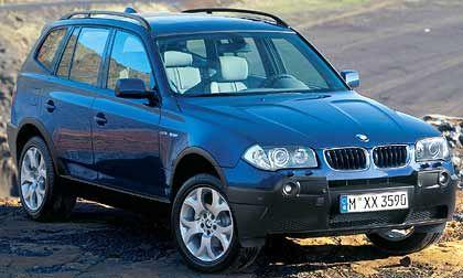 Kraxelt in immer neue Höhen: BMW, hier der kleine Offroader X3
