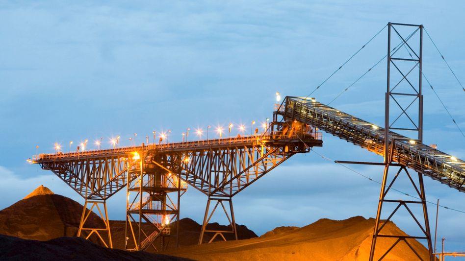 Macarthur: Umworbenener Kohleförderer