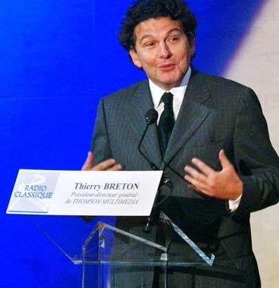 Thierry Breton: Michel Bon hinterließ ihm viele Schulden