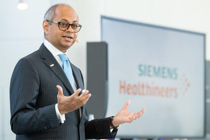 Soll die künftige Siemens-Energie- und Elektro-Abspaltung leiten: Michael Sen