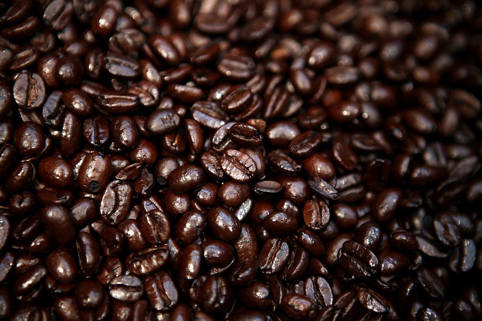Kaffeebohnen/ geröstet/ Acrylamid