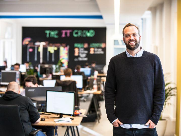Gründer und CEO des Onlineversicherers Simplesurance: Robin von Hein (34)