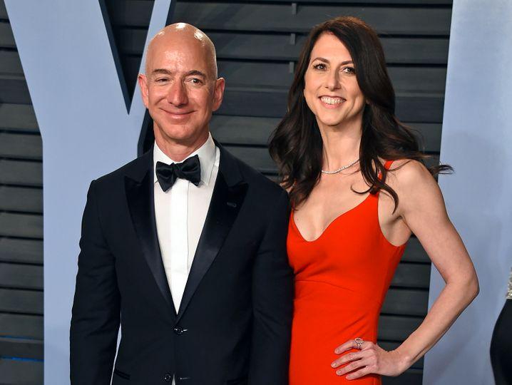 Teure Scheidung: Mackenzie Bezos erhielt von ihrem Ex-Mann Amazon-Gründer Jeff Bezos ein 36 Milliarden Dollar schweres Aktienpaket