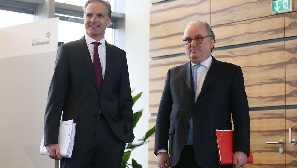 Stefan Ermisch (l.) übernimmt den Chefposten der HSH Nordbank von Constantin von Oesterreich.