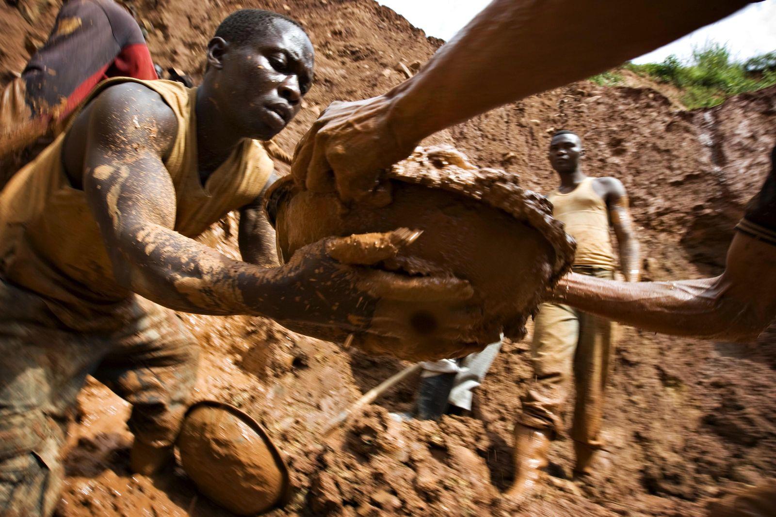 Gold-Mine / Kongo