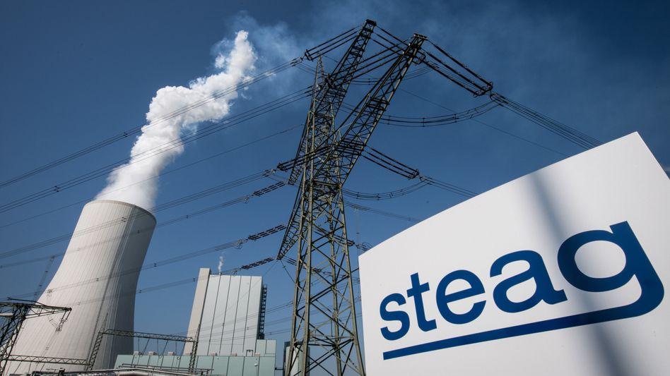 Steag-Heizkraftwerk Walsum in Duisburg