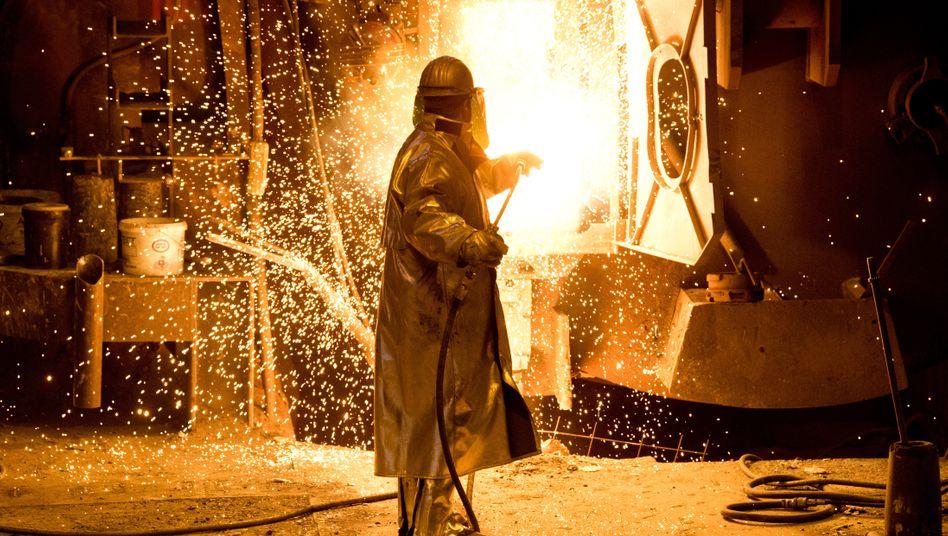 Stahlwerk von Salzgitter