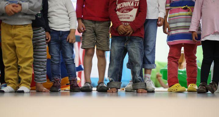 Die Namenswahl ist bei diesen Kindern schon gelaufen. Aber bis zur Berufswahl ist schon noch ein bisschen Zeit.