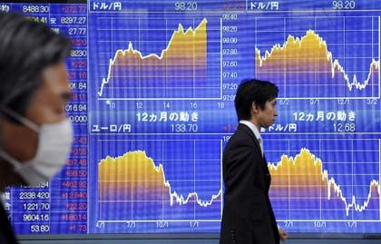 Lange Gesichter an Japans Börsen: Der Nikkei verlor zum Wochenauftakt 4,2 Prozent.