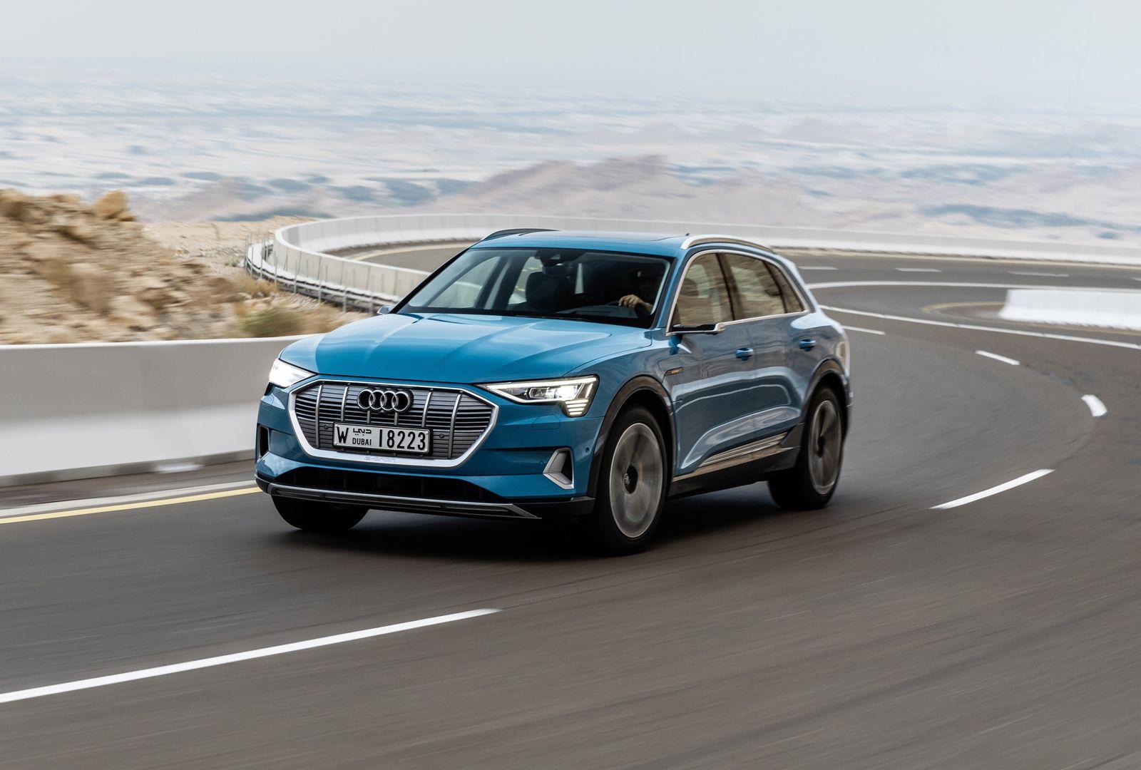 Audi e-tron / Frontansicht