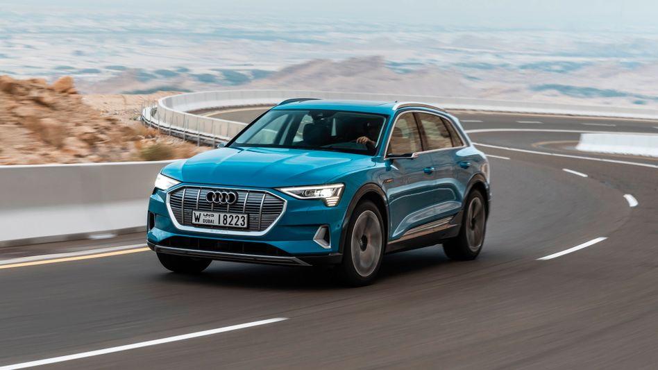 Audis Hoffnungsträger: Das Elektroauto E-Tron