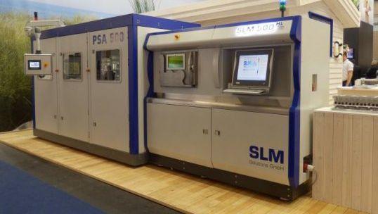 3D-Drucker von SLM: GE spart dank der Fertigung aus einem Guss hunderte Teile für neue Flugzeuggetriebe ein