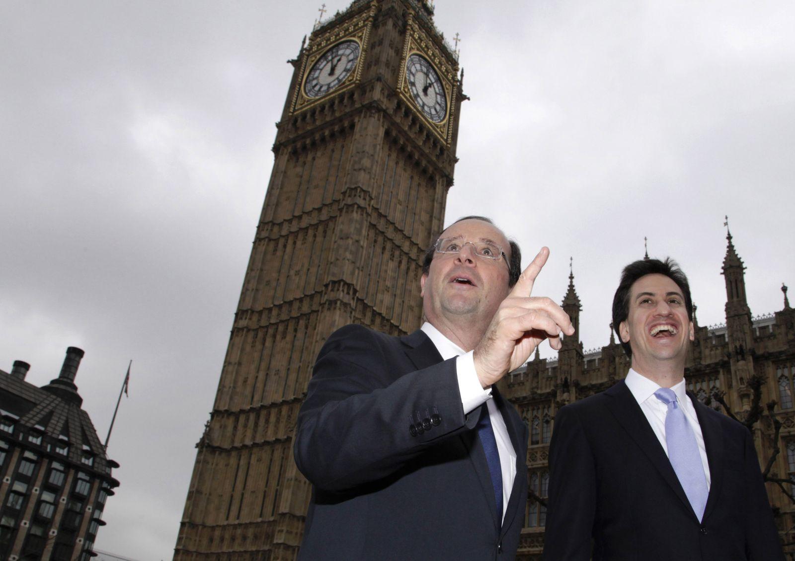 Hollande/ Miliband