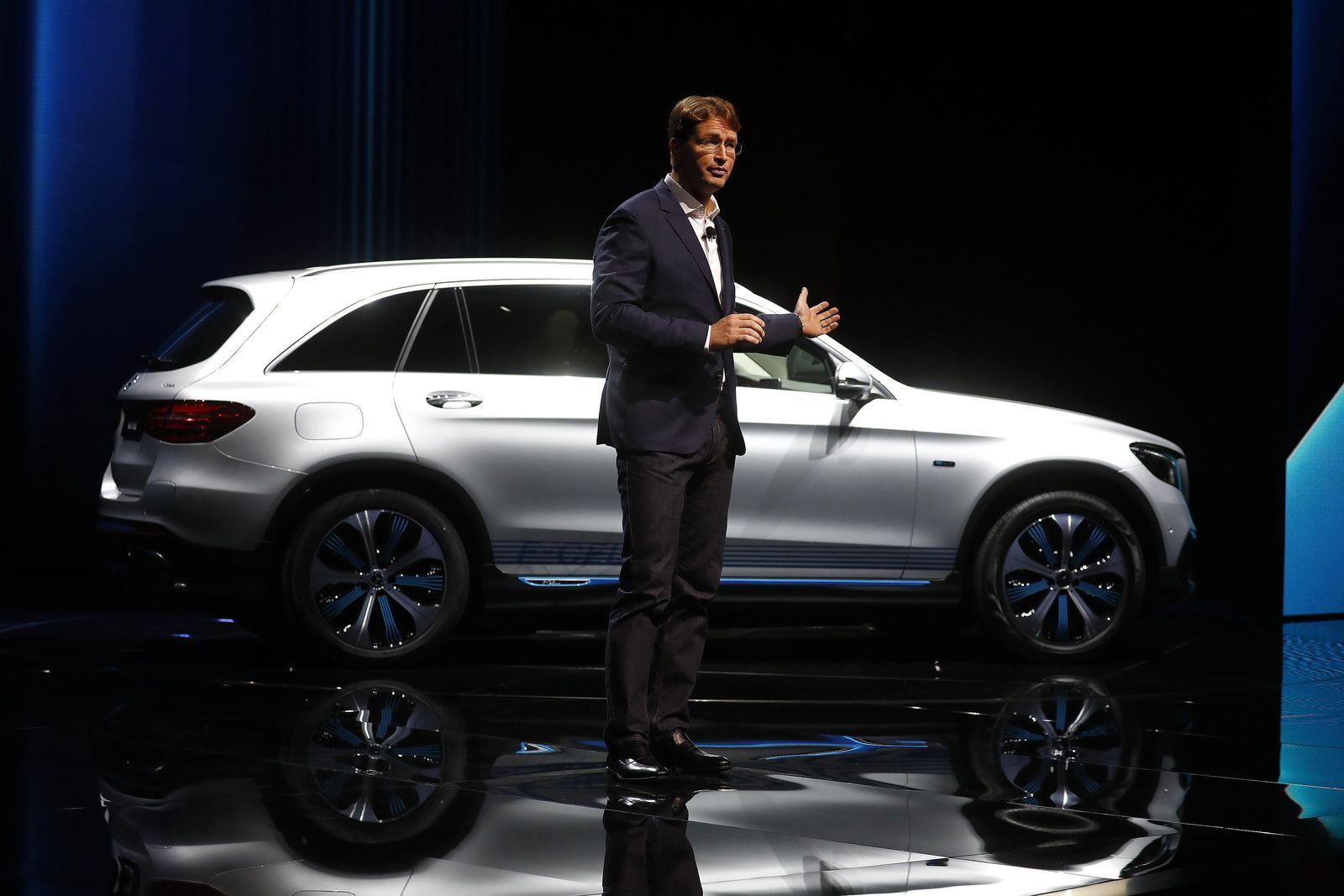 IAA Frankfurt / Mercedes GLC F-Cell / Ola Kaellenius