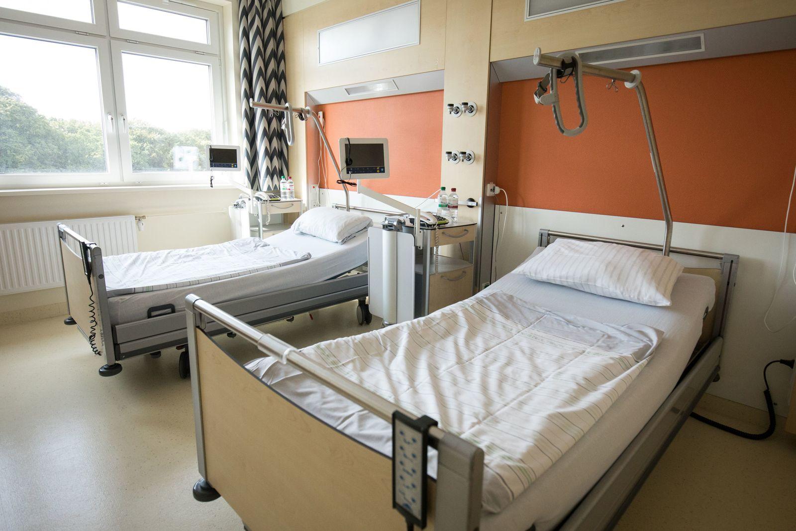 Patientenzimmer im Krankenhaus