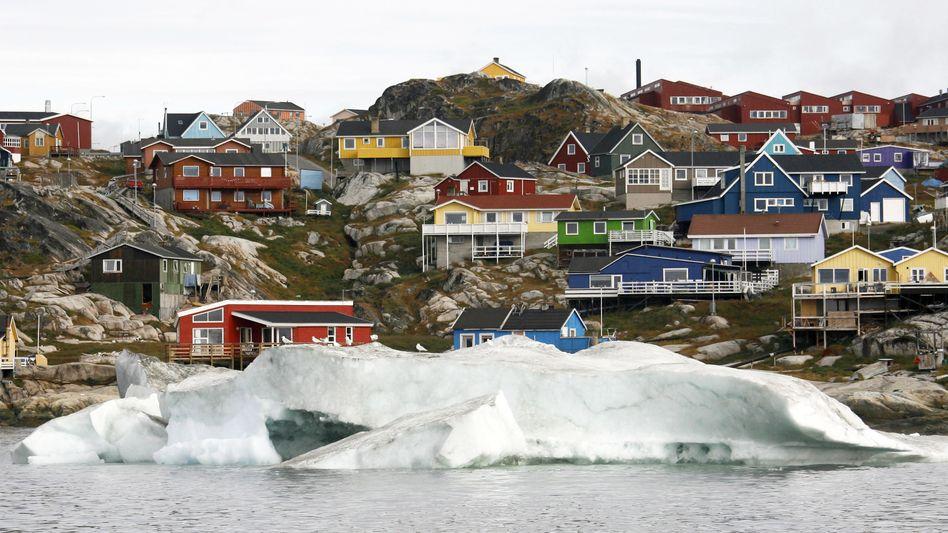 Grönland (im Bild die Stadt Ilulissat): Im Visier des US-Präsidenten