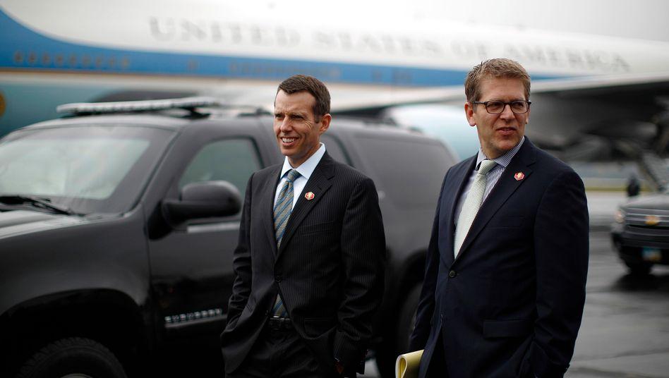 Kommunikationsberater David Plouffe: Der 47-jährige Vertraute von US-Präsident Barack Obama wird sich künftig um den US-Fahrdienst Uber kümmern
