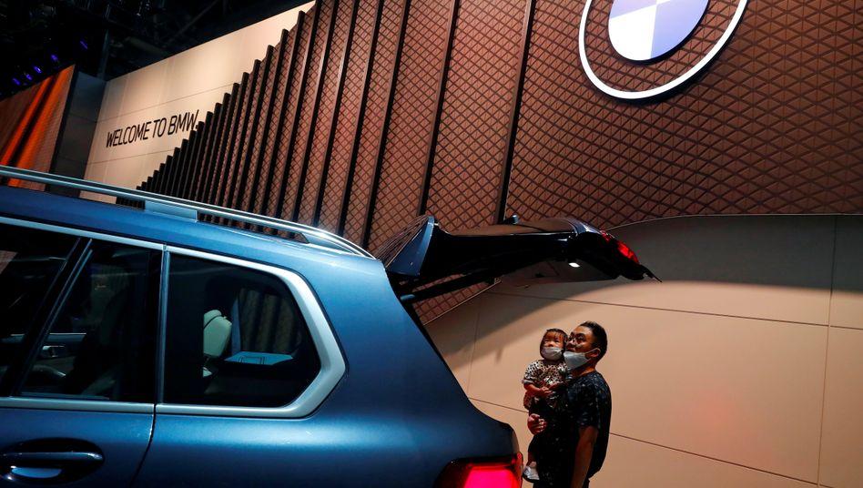 Beliebt auch im Fernen Osten: Für BMW ist China der wichtigste Einzelmarkt - fast jedes dritte Auto verkauften der Autobauer im vergangenen Jahr dort
