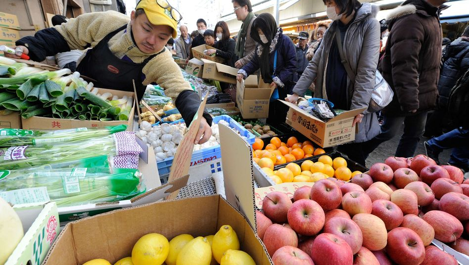 Genießbar? In Lebensmitteln aus einigen Regionen Japans steigt die Strahlenbelastung