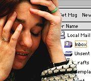 Montage: Mail/ Stress AUFMACHER/TXT