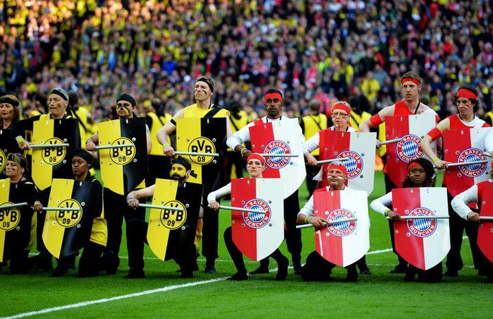 Eröffnungszeremonie des Champions-League-Finales 2013
